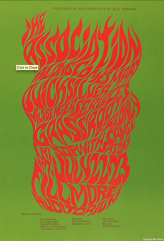 Psychedelic 60s | Graphic Design History