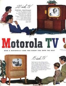 1950s Motorola TV ad