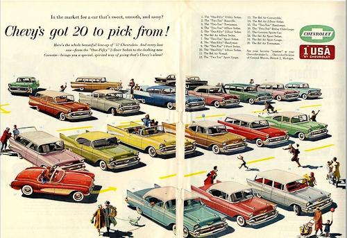 1950s Chevrolet Ad