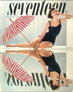 Cipe Pineles. 1949 Seventeen Magazine